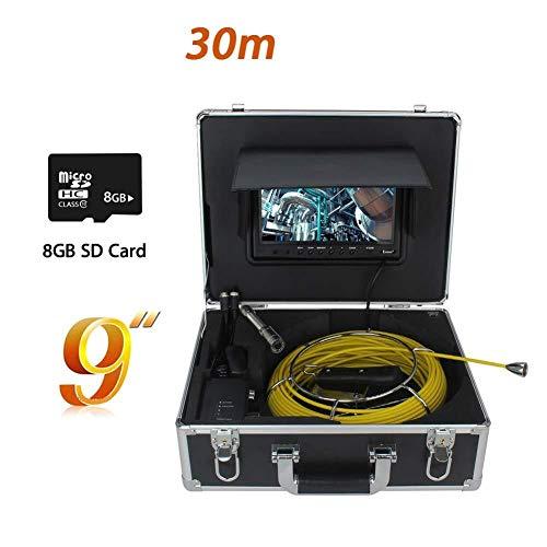 Einfache und schnelle Wartung Wasserdichter HD LCD-Monitor der Rohrleitungsinspektionskamera mit elektronischem Augendetektor der Autoreparaturklimaanlage-Abwasser, Batterie 12V 4000MAh Im Möglich