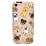 Velvet Caviar for Cute iPhone 8 Case & iPhone 7 Case Dog Clear for Women & Girls - Protective Phone Cases [Drop Test Certified] (Pug, French Bulldog, Golden, Yorkie)