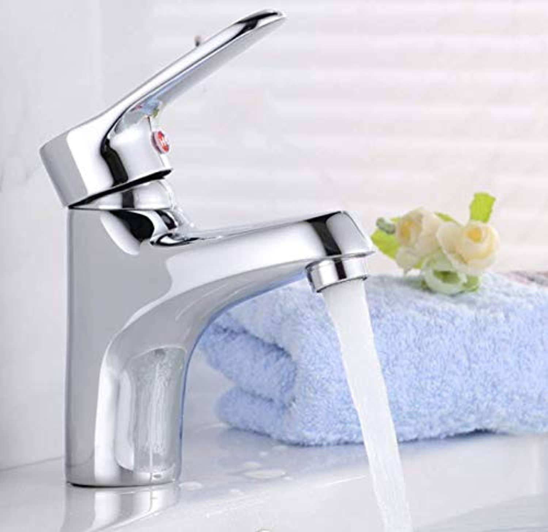 Bathroom Faucet Copper Hot and Cold Basin Faucet Washbasin Hot and Cold Faucet Bathroom Counter Basin Faucet