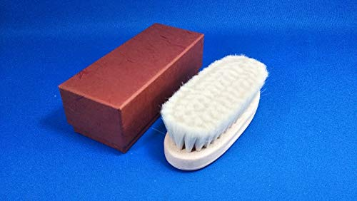 カナヤブラシ手植え靴ブラシ(山羊毛)