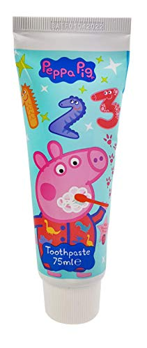 Peppa Pig Toothpaste, White, Strawberry, 75 Millilitre