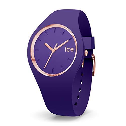 Ice-Watch - ICE glam colour Violet - Reloj porpora para Mujer con Correa de silicona - 015696 (Medium)