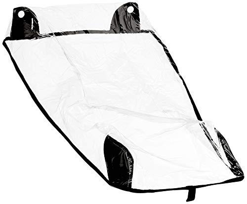 Croozer Unisex– Erwachsene Regenverdeck-3092025400 Regenverdeck, Transparent, One Size