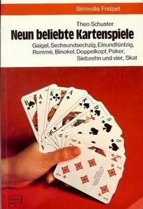 Neun beliebte Kartenspiele