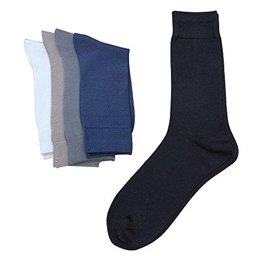 Jasmine Silk 5 pares hombres de lujo 100% seda Calcetines calcetines de noche calcetines tŽrmicos
