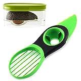 LABOTA 3-in-1 Avocado Slicer/Cutter and Avocado Storage/Keeper/Saver Holder/Container - Best Kitchen Gadget