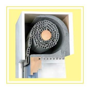 DiHa Roka-ASS® - Aislamiento para persianas, 2 piezas, redondo, grosor de 15 mm: Amazon.es: Bricolaje y herramientas