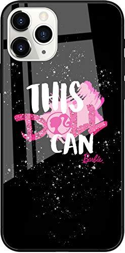 Funda Original de Barbie TPU para iPhone 11 Pro MAX, Cubierta de Silicona líquida, Flexible y Delgada, Protectora para Pantalla, a Prueba de Golpes y antiarañazos