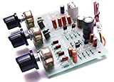 Electronic works Bass Treble Control Equalizer Tone Board kit (12 Volt Single Power Supply)