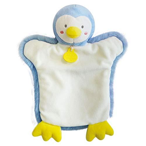 Doudou et Compagnie Marionnette Pingouin Bleu