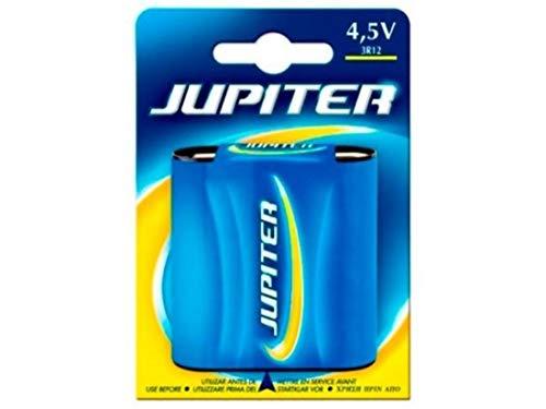 Jupiter Pila Sal. 3R12. Blister 1 UD. (319004), Negro, Estandar