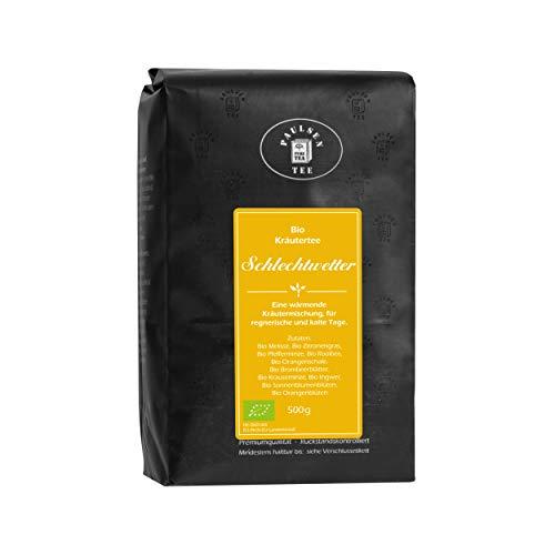 Bio Schlechtwetter 500g (37,90 Euro / kg) Paulsen Tee Kräutertee rückstandskontrolliert & zertifiziert