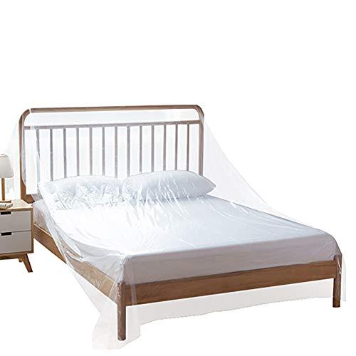 BCGT Muebles de la Cubierta, a Prueba de Polvo en Movimiento Bolsa for el sofá con la Cinta de posicionamiento, Claro y sin Olor Cubierta de plástico for Moving - W2 × L20m (Size : W2×L20m)