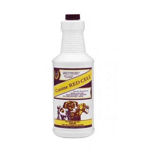 William Hunter Equestrian Red Cell Canine - A Liquid Vitamin/Mineral Supplement Fortified with Iron...