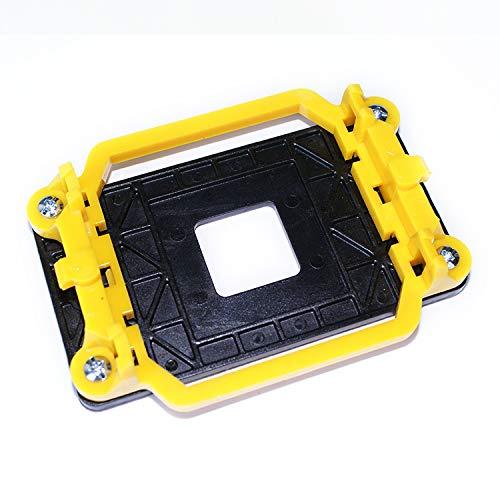 Idealforce Ventilador de refrigeración CPU disipador de calor socket AMD plástico CPU ventilador soporte base base para AMD 940 AM2 AM2+AM3 AM3+ con cuatro tornillos