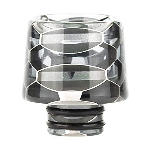 Satelliter 810 Drip Tip, Resin Drip Tip Connector Fit for TFV8, TFV12, Ice Maker Coffee Mod Machine (TFV8 Baby, H26)