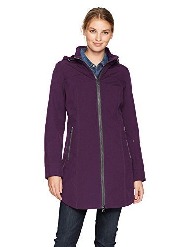 Kristen Blake Women's TECH RAIN, BlackBerry, XS