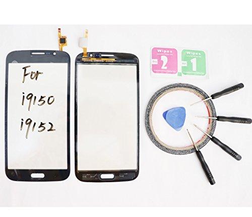 JRLinco Voor Samsung Galaxy Mega 5.8 i9150 i9152 GT-i9150 GT-i9152 Touch screen glas monitor glas, externe touch vervangend glas (geen LCD, niet kopen fout) Voor zwart + Gereedschap & Dubbelzijdige lijm