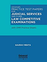 Universal's Practice Test Papers for Judicial Services and other Law Competitive Examinations with OMR Practice Sheets