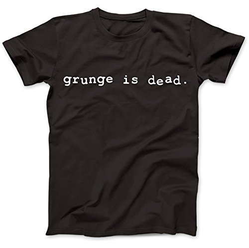 Bees Knees Tees Grunge is Dead Worn by Kurt Cobain T-Shirt