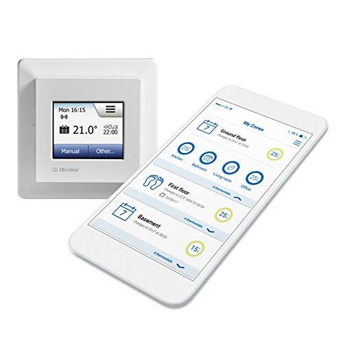 Smart Home Thermostat MWD5 + WiFi App + Digital Thermostatregler für Fußbodenheizung