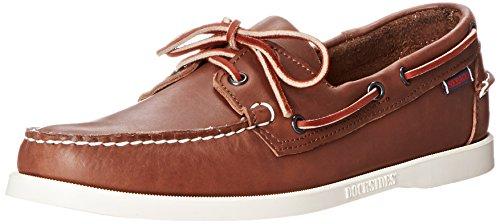 Sebago Men's Docksides Boat Shoe,Brown,10 M US