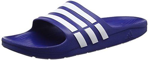 Adidas Duramo Slide, Unisex-Erwachsene Dusch- & Badeschuhe, Blau (Azupot / Blanco 000), 54 2/3 EU (18 UK)