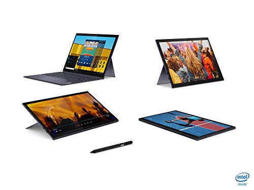 Lenovo Yoga Duet 7i (13 Pouces, 2160 x 1350, WQHD, WideView, Touch) Tablette 2 en 1 (Intel Core i5-10210U, 8 Go de RAM, SSD 256 Go, Wi-FI, Intel UHD, Windows 10 Home) Gris