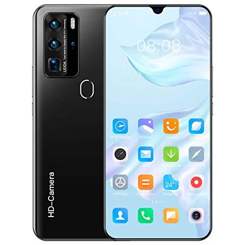 snmi P80pro entsperrtes Android-Handy, Version Smartphone, 16 GB Speicher, langlebiger Akku, 7,1-Zoll-HD-Display, Quad-Kamera, Schwarz