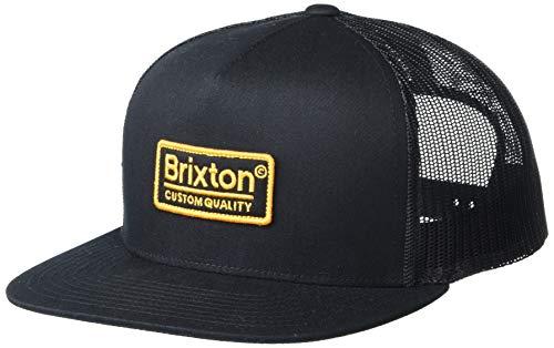 Brixton Men's Cap, Black/Gold, O/S