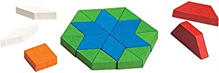 Didax Educational Resources Pattern Blocks, Wooden, 250