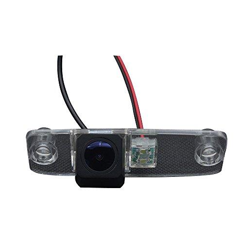 Dynavsal HD CCD Caméra de Recul Voiture en Couleur Kit Caméra vue arrière de voiture Imperméable IP67 avec large Vision Nocturne pour Elantra Accent Tucson Veracruz Sonata Terracan