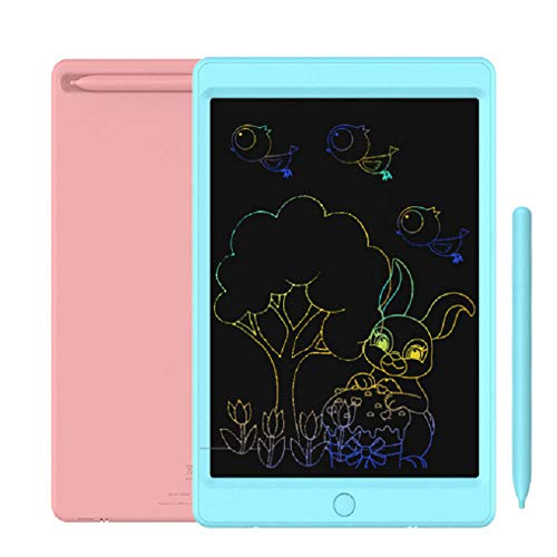 All-Purpose Portable LCD Writing Tablet, 8.5 Inch Colorful Screen Digital Ewriter Electronic Graphics Tablet for Kids Adult Home School Office 2 Packs