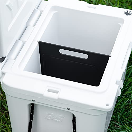 BEAST COOLER ACCESSORIES Designed Yeti Tundra 35 & 45 Compatible Cooler Divider & Cutting Board - Improved Design That is Compatible with The Yeti Tundra 35 and Yeti Tundra 45 Coolers