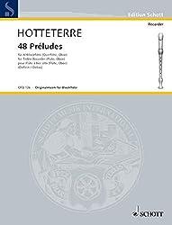 Preludes(48) in 24 tonarten flute a bec