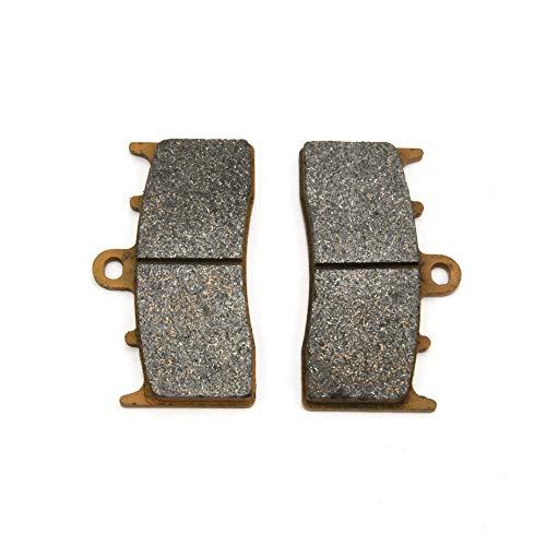 Un Xin 1 Paire Avant Plaquettes de Frein 81 x 45,9 X 7.7 mm pour BMW R 850 R 04–06 R 1100 S 00–06 12 R 1200 R 07–13 K 1300 R 09–12 Kawasaki ZRX 400 98–01
