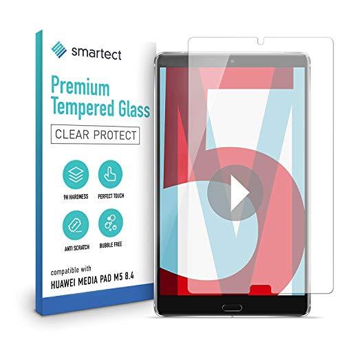smartect Schutzglas kompatibel mit Huawei MediaPad M5 8.4 Zoll - Tempered Glass mit 9H Festigkeit - Blasenfreie Schutzfolie - Anti-Kratzer Bildschirmschutzfolie