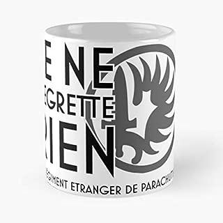 Foreign Legion Etrangere Shirt Legio Patria Nostra Motto - Morning Coffee Mug Ceramic Novelty Holiday
