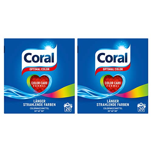 Coral Optimal Color Pulver 20 WL (2 x 20 WL)