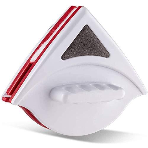 herramienta de limpieza magnética shajiahao, arandela magnética de la ventana para ventanas de vidrio doble, para ventanas de alta calidad y espesor 3-8 mm (rojo)