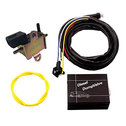 gazechimp Controlador Eléctrico Para Válvula De Descarga Diesel Turbo Kit De Válvula De Descarga Sin Válvula