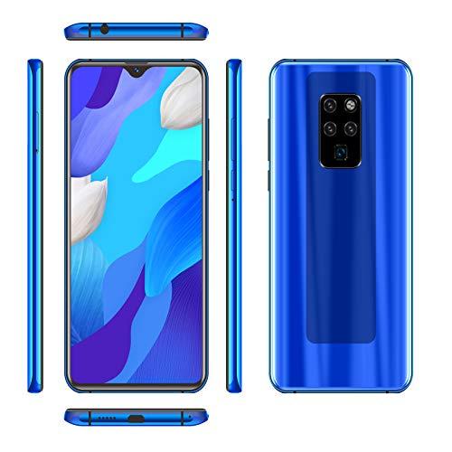 Mate 35 Smartphone Desbloqueado, Pantalla De Caída De Agua FHD + De 6,3 Pulgadas, Teléfono Móvil 4G Dual SIM, Batería 4800mAh, 6GB + 128GB, Reconocimiento Facial