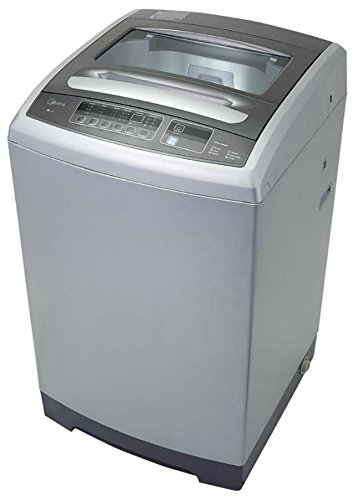 midea MAE50-1102PSS 1.6 cu. ft. Top Loading Portable Washing Machine, Stainless Steel