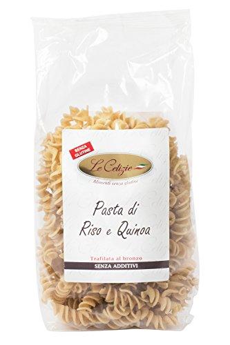 Le Celizie Fusilli di Riso e Quinoa - Pacco da 250 gr, Senza glutine