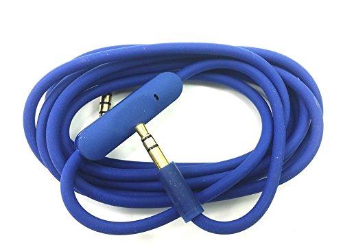 Ersatz Audio Kabel mit Inline-Mikrofon Steuerung mit Beats kompatibel von Dr. DRE Kopfhörer Solo 3 / Studio3/ Pro/Detox/Wireless/Mixr/Executive/Pille