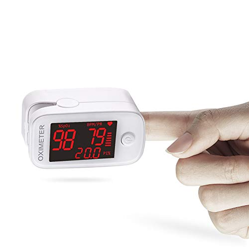 WanNing Saturimetro da Dito, pulsossimetro da Dito,pulsossimetro Professionale, Rivelatore di Ossigeno di Ossigeno, Forniture mediche