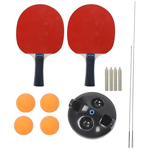 XiangXin Kit de Entrenamiento de Tenis de Mesa, ABS, Eje Flexible y Duradero, Herramienta de Entrenamiento de Tenis de Mesa, Peso Ligero de Alta Resistencia para Principiantes Entrenamiento para