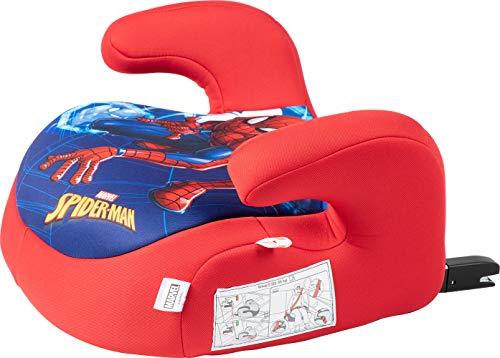 Disney Seggiolino Auto Booster Alzabimbo Isofix Marvel Spiderman Uomo Ragno Gruppo 3 (Per Bambini 22-36 Kg), Blu
