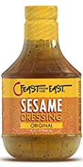 All natural sesame salad dressing Makes for the best Chinese chicken salad Also an excellent marinade No MSG, Artificial Preservatives, and Gluten Ingredients Large bottle 32 Fl Oz