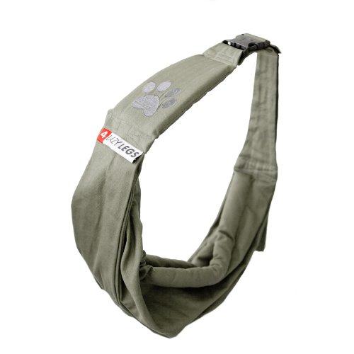 4Lazylegs 960778 Hundetragebeutel, Army grün